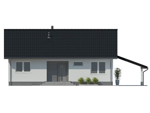 SD5 - Elewacja przednia