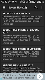 BMoney Soccer Predictions - náhled