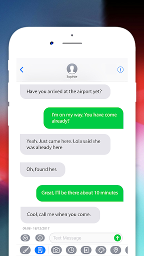 Message IOS 12 - Text Messenger style OS12 Phone X Apk by