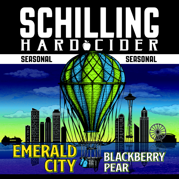 Logo of Schilling Cider Emerald City (Blackberry Pear)