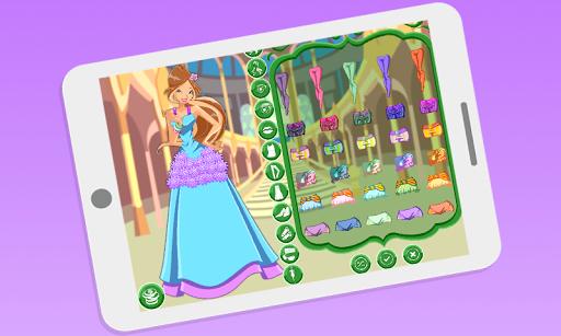 玩免費模擬APP|下載Dress up Flora Winx app不用錢|硬是要APP
