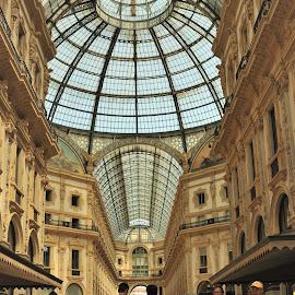 Galleria Vittorio Emanuele II by Tomasz Budziak - City,  Street & Park  Markets & Shops ( markets, city, shops, milano, italy )