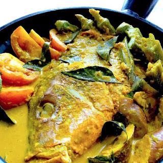 Curry Fish Head.