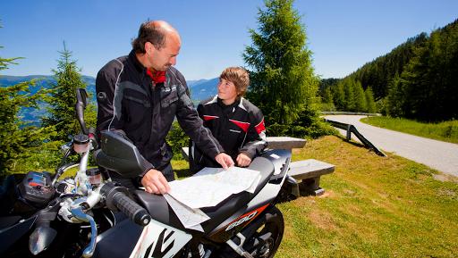 Alpes à moto
