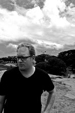 Photo: My colleague Vic Fryzel in the Park in Bangalore