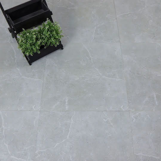 Klinker Alamosa Light Grey Blank Marmor 60x60