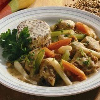 Kaninchen-Gemüse-Ragout
