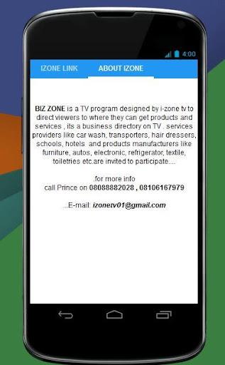 BIZ ZONE on TV 0.1 screenshots 5