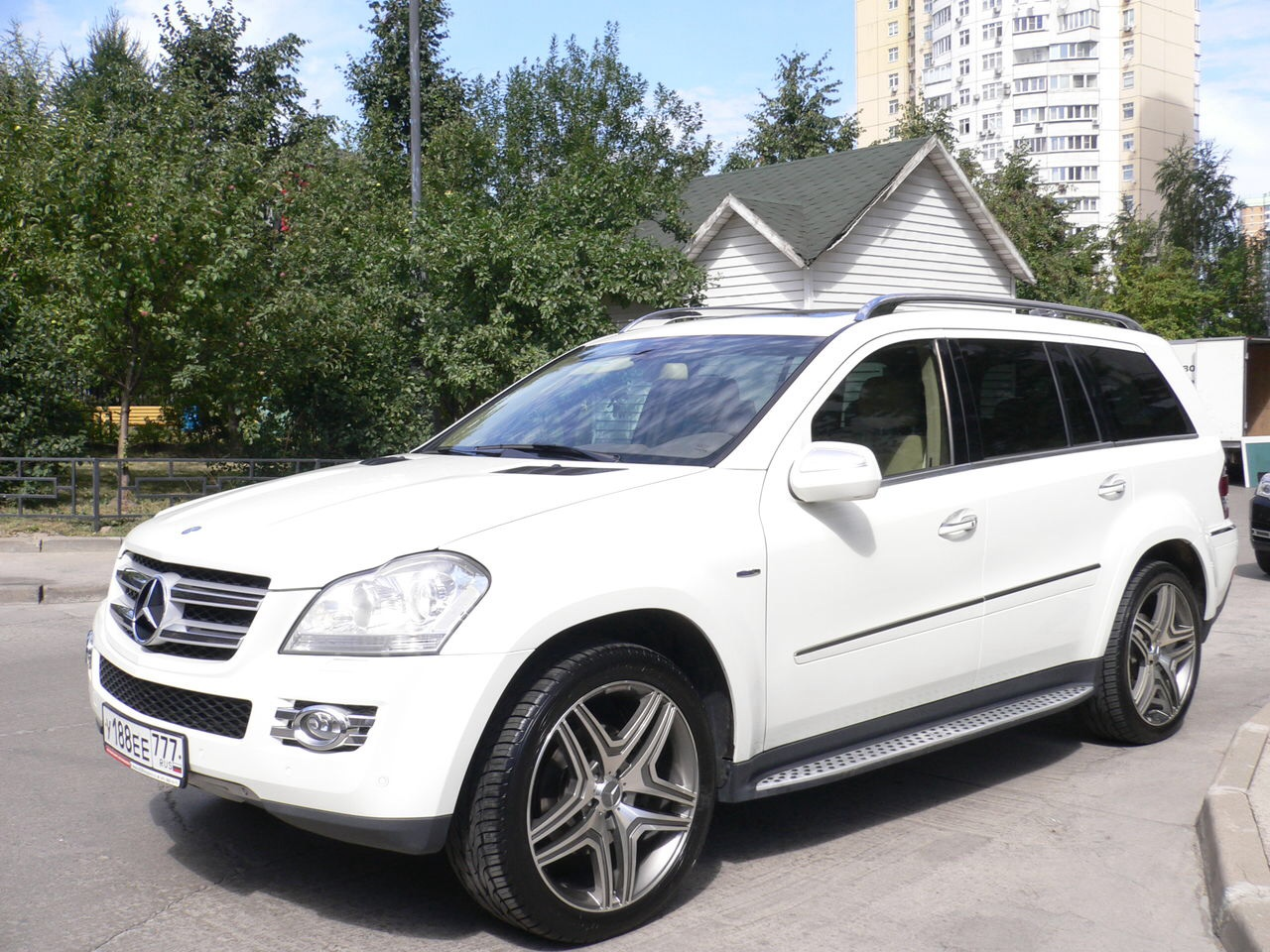 Mercedes-Benz GL500 в Воронеже