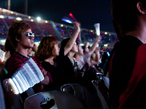 Photo: This guy wasn't happy until TVXQ came on