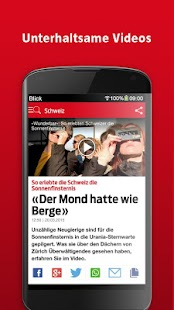 Blick- screenshot thumbnail