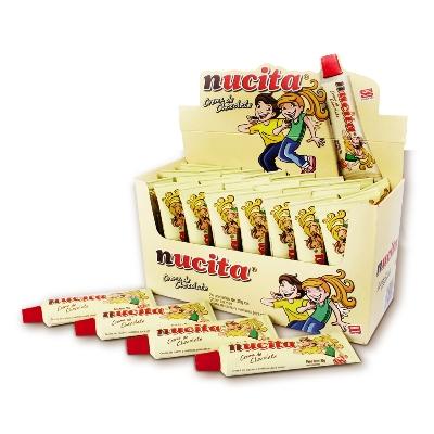 chocolate nucita tubito 35gr