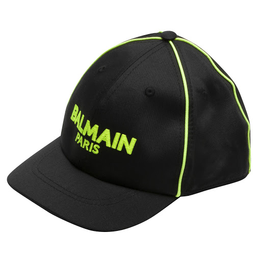 Primary image of Balmain Black Logo Cap