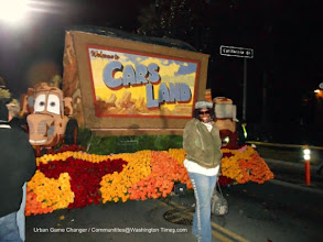 Photo: Walt Disney Float Great Adventure and Shirley Husar 2013