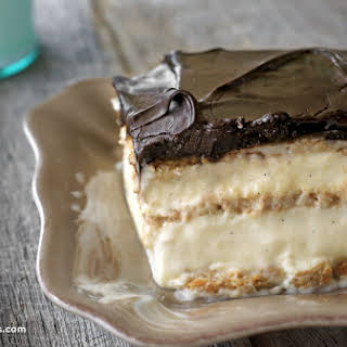 No-Bake Chocolate Eclair Cake.