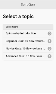 SpiroQuiz- screenshot thumbnail