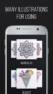 Coloring Book 2017 With Mandalas Screenshot Thumbnail