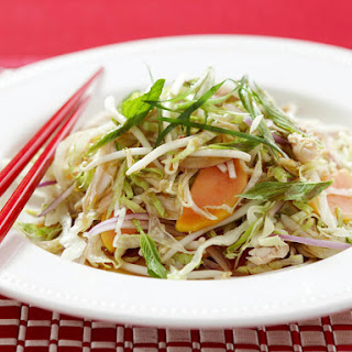 Papaya Chicken Thai Salad.