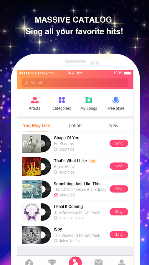 Sing Karaoke Songs- screenshot