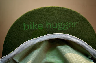 Photo: A quick-drying, lightweight, rip stop nylon version of a European classic with our modern design. In Bike Hugger green with logos and logotype. Best feature is this hat will not shrink or fall apart in the wash.  Available on Amazon.com for $14.00 USD.  http://goo.gl/qbVtc