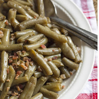 How To Make Canned Green Beans Taste Better.