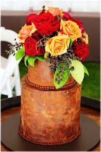 Photo: Rustic Autumn by Sweet T & Cake(10/14/2012). View Cake Details Here: http://cakesdecor.com/cakes/32217