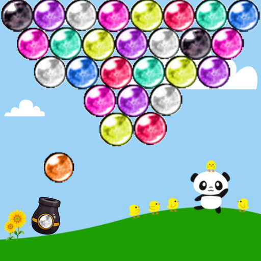 Panda journey Bubble Shooter