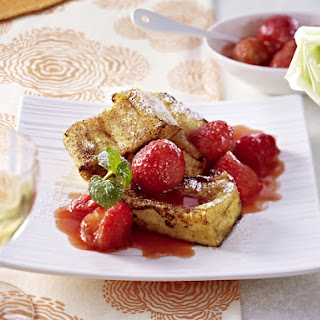 Brioche French Toast with Strawberries