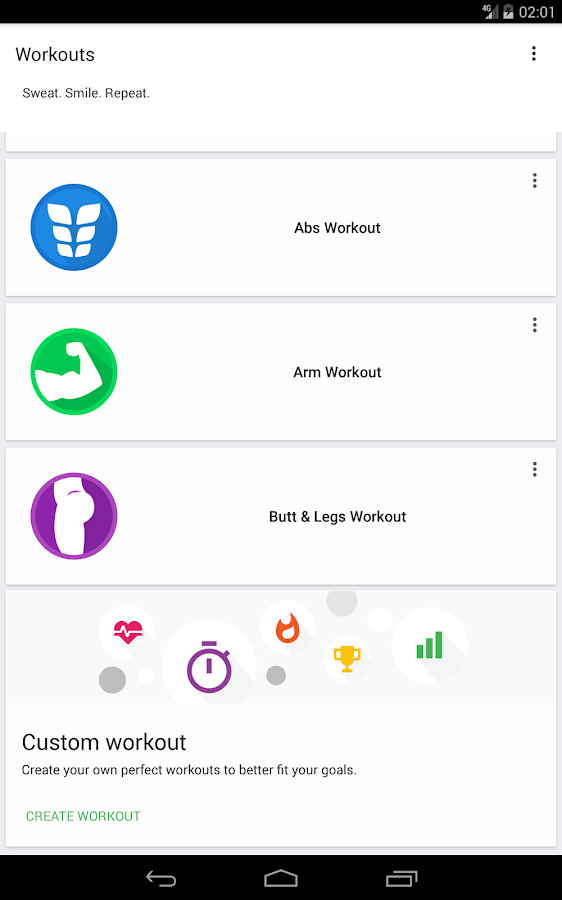 Home Workout - 30 Day Fitness Challenge- screenshot