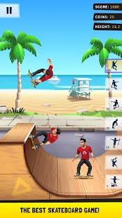 ApkMod1.Com Flip Skater + (unlimited money) for Android Game Sport