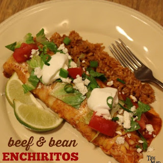 Beef and Bean Enchiritos!