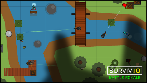 surviv.io - 2D Battle Royale 1.0.9 screenshots 1