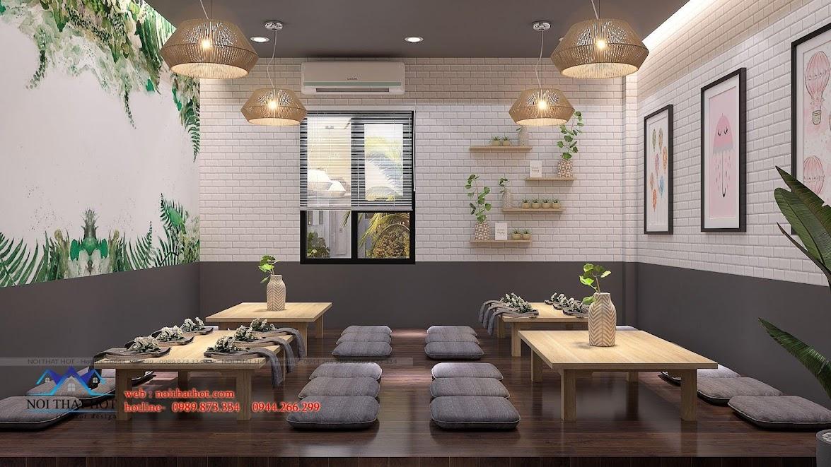 thiết kế nhà hàng dẹp, giá hợp lý 11