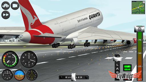 Flight Simulator 2015 Flywings - Paris and France apkpoly screenshots 16