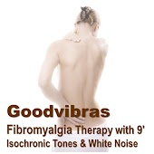 Fibromyalgia Therapy With 9' Isochronic Tones & White Noise