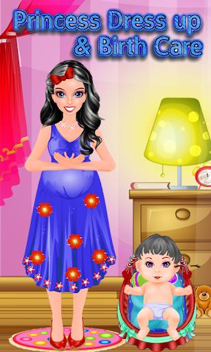Princess Dress up Birth Care