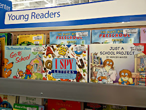 Photo: I do find some good books for preschoolers and some nostalgic choices like Litte Critter and Berenstain Bears.