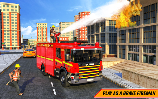 American FireFighter Truck : City Emergency Rescue 1.1 de.gamequotes.net 4