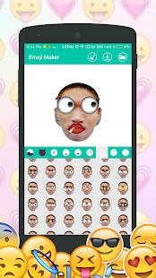 DIY Emoji Maker : Make emoji from your face - náhled