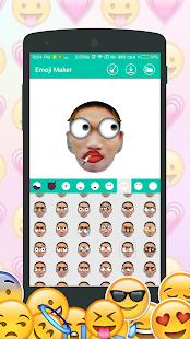 App DIY Emoji Maker : Make emoji from your face APK for Windows Phone