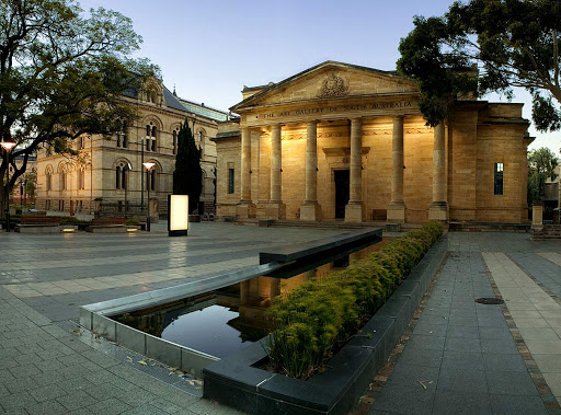 Art-Gallery-of-South-Australia -  The Art Gallery of South Australia, part of the South Australian Museum on North Terrace in Adelaide, Australia.