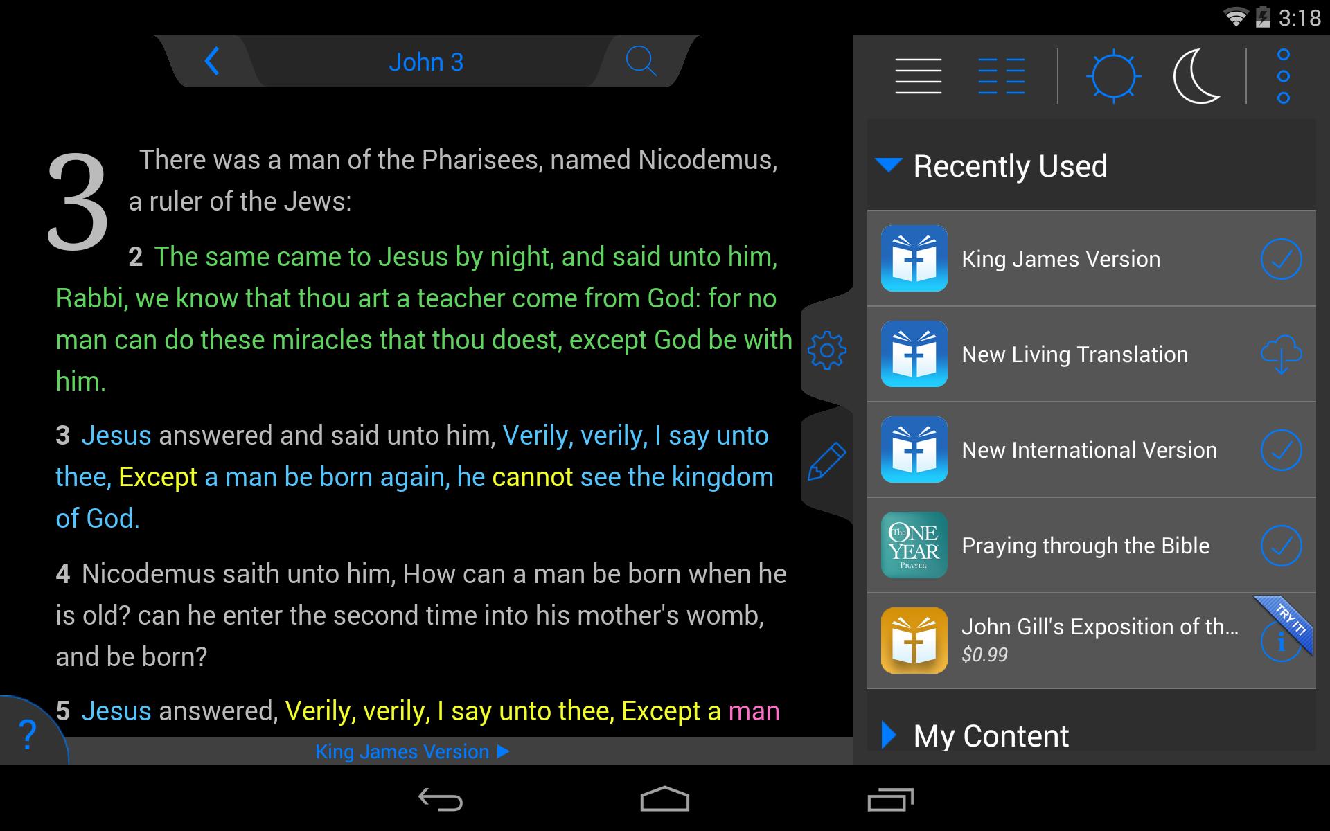 New American Standard Bible screenshot #22