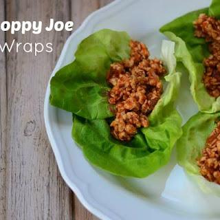 Turkey Sloppy Joes Lettuce Wraps