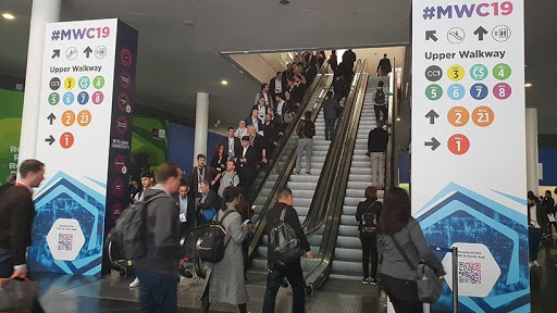 Over 100 000 people attend Mobile World Congress every year in Barcelona, Spain.