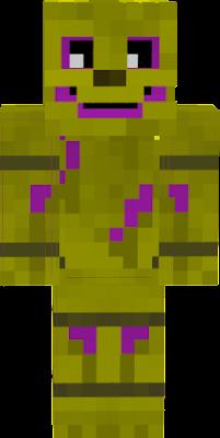 майнкрафт скин фиолетового парня #4