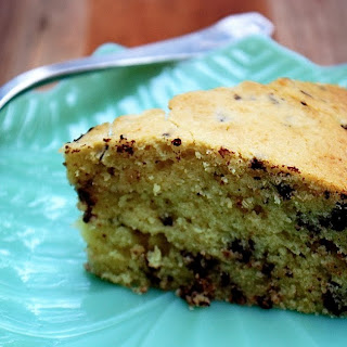 Spelt Olive Oil Cake with Chocolate Chunks