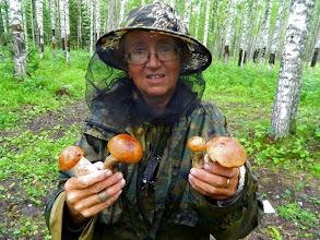 Photo: Первые грибочки.