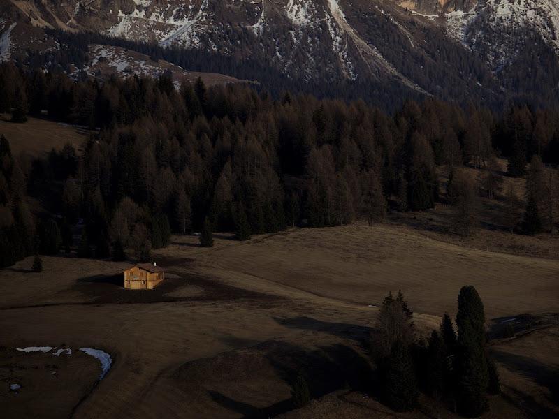 tramonto in alpe di Siusi di Lucabanchini