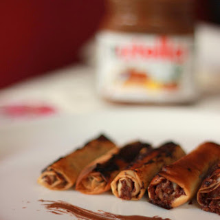 How to Make Nutella Spring Rolls