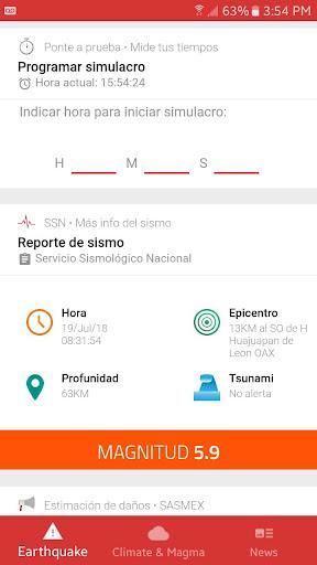 SafeLiveAlert Alerta su00edsmica 4.0.5 screenshots 2